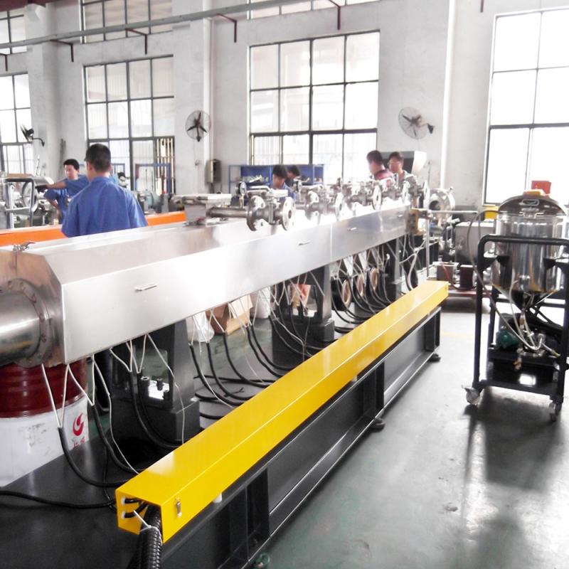 氟塑料脱挥塑化造粒专用生产线